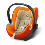 CYBEX ATON Q AUTUMN GOLD - BURN RED  0-13KG KOLEKCJA 2016 PLATINIUM