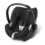 CYBEX ATON Q PLUS HAPPY BLACK 0-13KG KOLEKCJA 2016 PLATINIUM