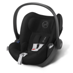 CYBEX CLOUD Q  HAPPY BLACK 0 - 13 KG KOLEKCJA 2016 PLATINIUM