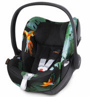 CYBEX PLATINUM FOTELIK 0-13 KG CLOUD Q BIRDS OF PARADISE FASHION COLLECTION - KOLEKCJA 2017