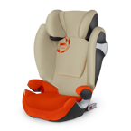 CYBEX SOLUTION M-FIX AUTUMN GOLD 15-36KG KOLEKCJA  2016 GOLD