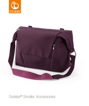 STOKKE® CHANGING BAG - TORBA PIĘLĘGNACYJNA 2W1 PURPLE 2017