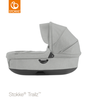 STOKKE® GONDOLA DO WÓZKA TRAILZ® / CRUSI® GREY MELANGE