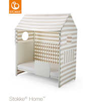 STOKKE® HOME™ BED TENT BEIGE STRIPE - NAMIOT