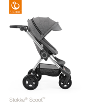 STOKKE® SCOOT BAZA BLACK MELANGE / BUDKA BLACK MELANGE 2017 EDITION