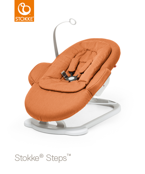STOKKE® STEPS™ BOUNCER - LEŻACZEK ORANGE