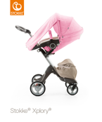 STOKKE® XPLORY®/CRUSI/TRAILZ SUMMER KIT PEONY PINK 2016